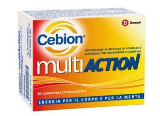 CEBION MULTIACTION 20 COMPRESSE EFFERVESCENTI