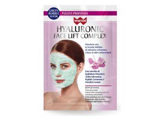 WINTER HYALURONIC FACE LIFT COMPLEX MASCHERA VISO BUBBLE PULIZIA PROFONDA 23 ML