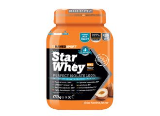 STAR WHEY PERFECT ISOLATE 100% DELICE HAZELNUT 750 G