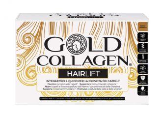 GOLD COLLAGEN HAIRLIFT 10 FLACONCINI DA 50 ML