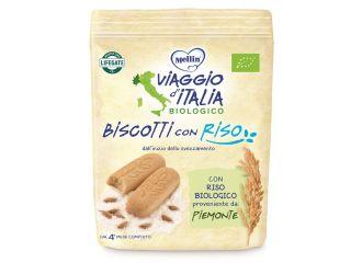 VIAGGIO ITALIA BISCOTTI CON RISO 150 G