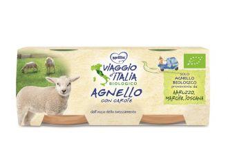 MELLIN VIAGGIO ITALIA OMOGENEIZZATO BIO AGNELLO 2X80 G