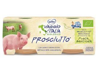 MELLIN VIAGGIO ITALIA OMOGENEIZZATO BIO PROSCIUTTO 2X80 G