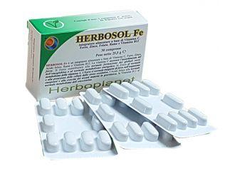 HERBOSOL FE 30 COMPRESSE