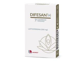 DIFESAN+ 7 COMPRESSE VAGINALI