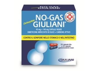 NO–GAS GIULIANI CARBOSYLANE 45 MG + 140 MG CAPSULE RIGIDE