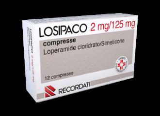 LOSIPACO 2 MG/125 MG COMPRESSE