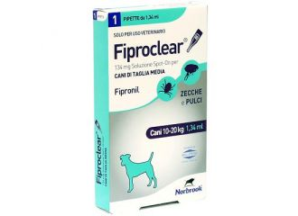 FIPROCLEAR Spot-On 1 Pip.134mg