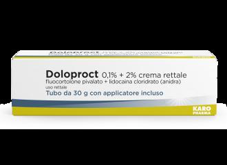 DOLOPROCT 0,1% + 2% CREMA RETTALE